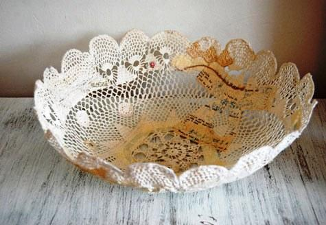 Jane's Doily Bowl