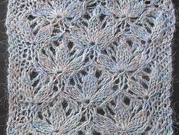 Reverse engineering an Estonian lace pattern
