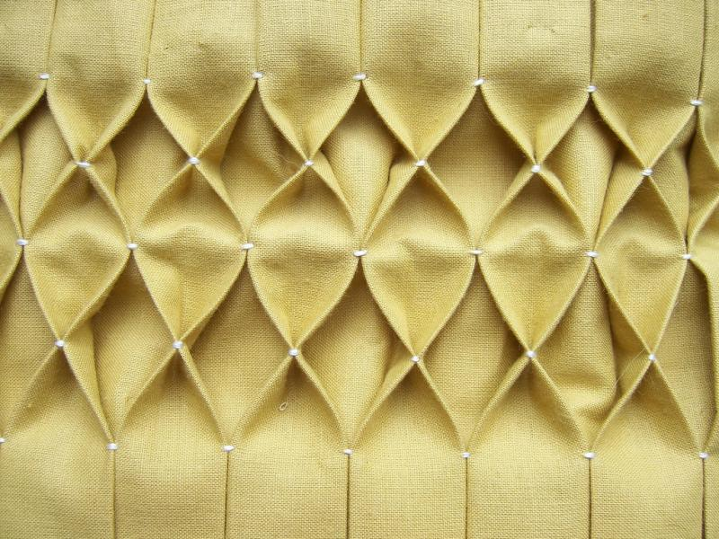 Honeycomb Smocking Tutorial