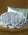 Phildar 007 Flower Pillow