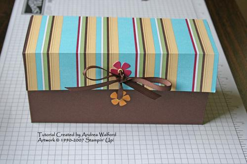 Simply Scrappin' Kit Card Box Tutorial