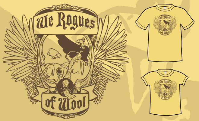 Rogues of Wool T-Shirt